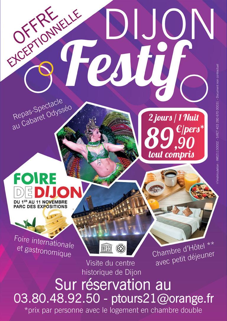Foire internationale gastronomique Dijon Séjour